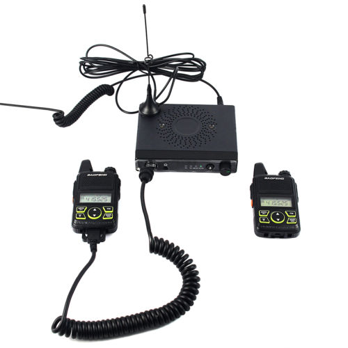 Mini one Mobile Car Transceiver Two-way Radio 15W UHF400-470MHz (second edition)