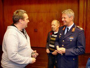 Astronaut Dr. Thomas Reiter am 30. August 2016 in Lingen (Ems) zu Gast