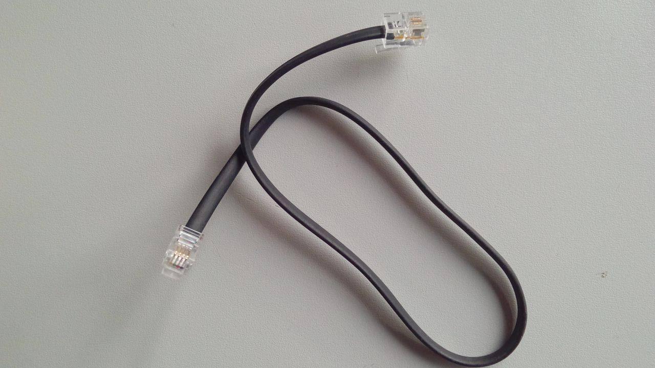 Kabelverbindung für Display beim Yaesu FTM400DE oder anderen Funkgeräten