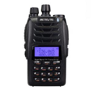 Retevis RT23 UHF+VHF 5W Cross-Band Repeater Dual PTT Dual Display Dual Band