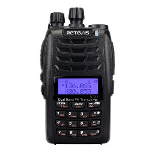 Retevis RT23 UHF+VHF 5W Cross-Band Repeater Dual PTT Dual Display Dual Band