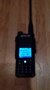 Retevis RT82 VHF UHF DMR FM
