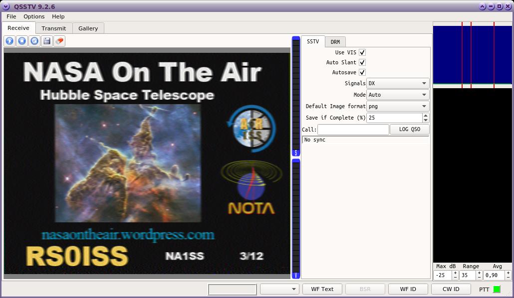 ISS SSTV vom 09. Februar und 10. Februar 2019