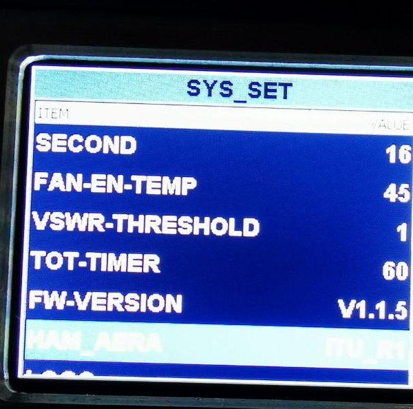 AilunceHS2: FW V1.1.5 unterstützt ITU-Auswahl