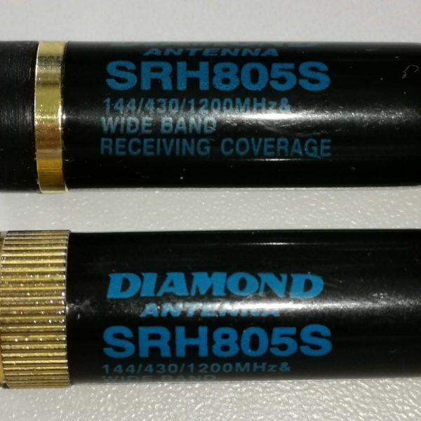 Kleine Diamond SRH805S SMA Antenne